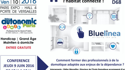 Jour J! Retrouvez Bluelinea au Salon Autonomic de Paris!