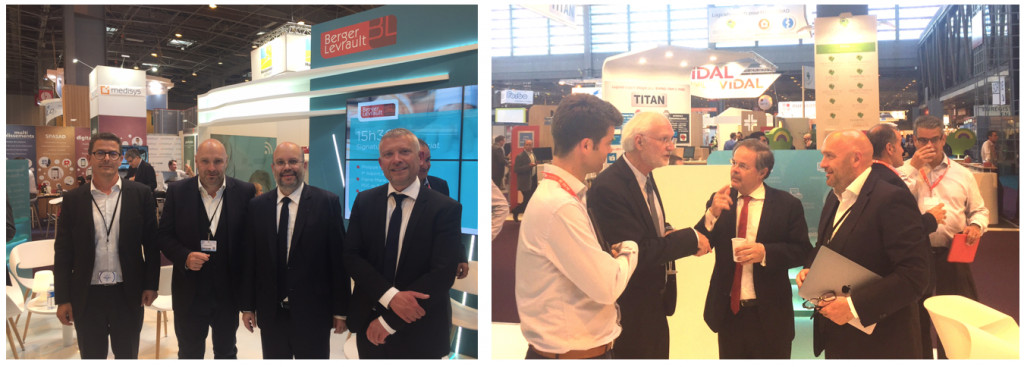 Berger Levrault accueille Bluelinea au Salon Paris HealthCare Week