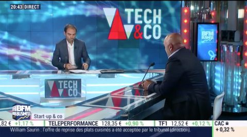 BFM Business / Bluelinea dans Tech&Co