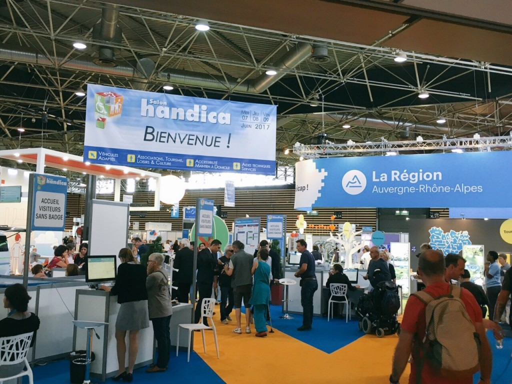 Bluelinea au Salon Handica Lyon